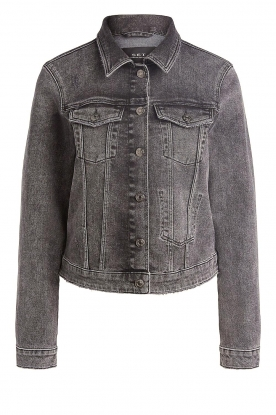 Set | Denim jacket Chloé | dark grey