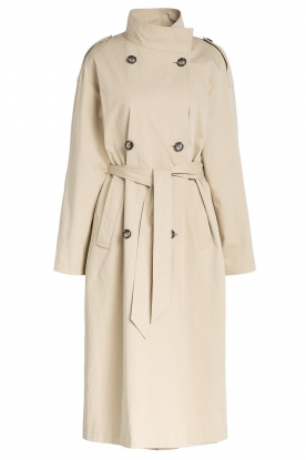 Set | Oversized trenchcoat Cis | beige