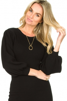 Mimi et Toi |  18k gold plated necklace Odette XL | gold
