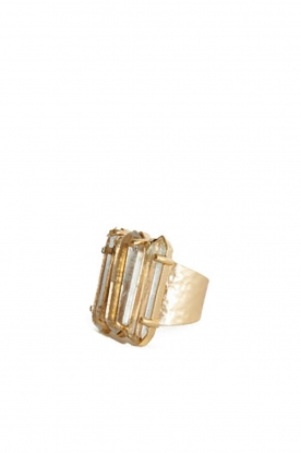 Mimi et Toi |  18k gold plated ring Virginie | gold