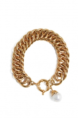 Mimi et Toi |  18k gold plated bracelet Eglise | gold