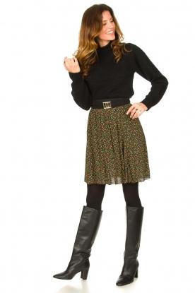 Look Floral skirt Fiene