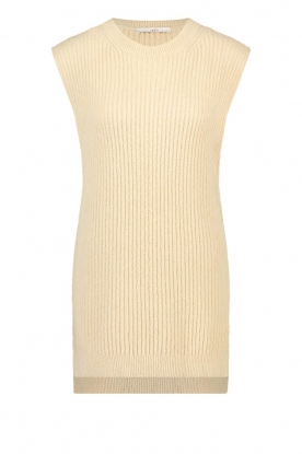 Aaiko | Knitted spencer Mava | beige
