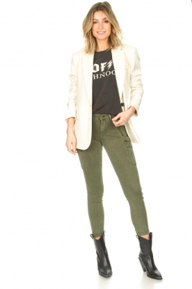 Set |  Cargo pants Flore | green