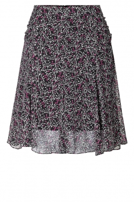Second Female | Floral skirt Kaylan | black
