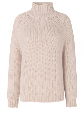 Second Female | Knitted turtleneck Ivory | beige