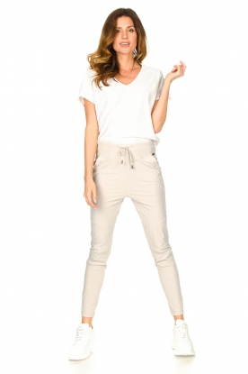 D-ETOILES CASIOPE | Travelwear broek Guet | cement