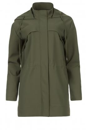 D-ETOILES CASIOPE |  Travelwear parka Avocat | green