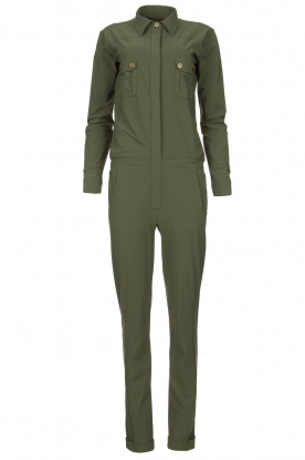 D-ETOILES CASIOPE | Travelwear jumpsuit Astro | green