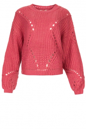 Fracomina | Knitted sweater Levy | pink
