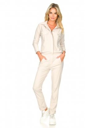 D-ETOILES CASIOPE |  Travelwear jumpsuit Astro | cement