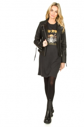 Look T-shirt dress with print Wild Spirit