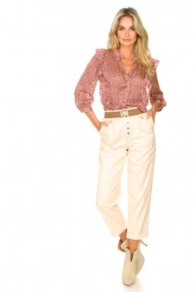 Look Ruffle blouse Hanni