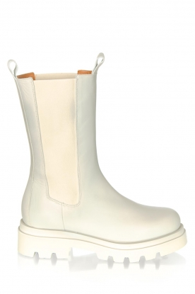 Toral | Leather boots Kiki | beige
