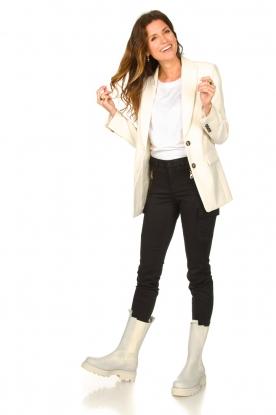 Toral |  Leather boots Kiki | beige