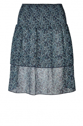 Lolly's Laundry | Floral skirt Magda | blue