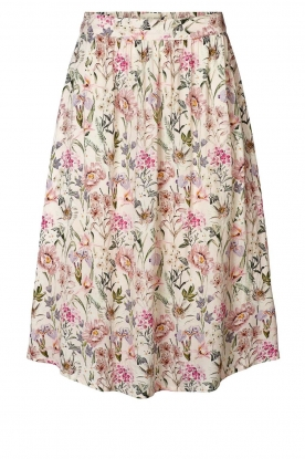 Lolly's Laundry |  Floral midi skirt Ella | natural