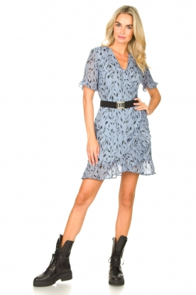 Look Dress with floral print Rosy