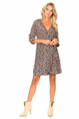 Look Midi dress with floral print Odette