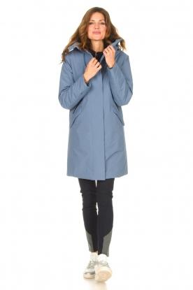 Look Luxe parka jacket Mercury