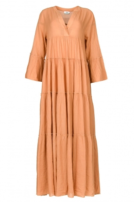 Devotion | Losse maxi-jurk Roos | nude