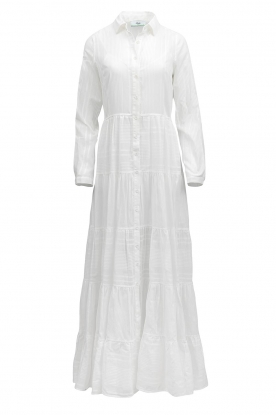 Devotion | Cotton maxi dress Evie | white