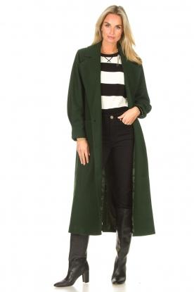 CHPTR S    Trench coat Lead   green