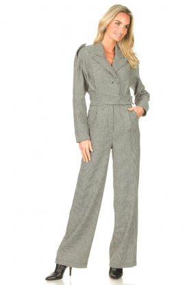 Look Tailored jumpsuit with print Melange