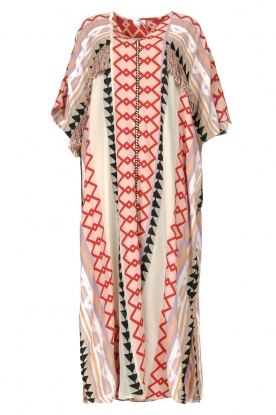 Devotion | Kaftan met franjes Charless | multi