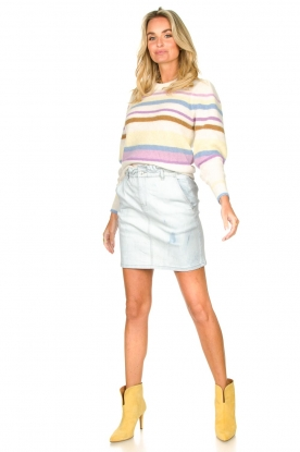 Look Skirt with tie dye effect May