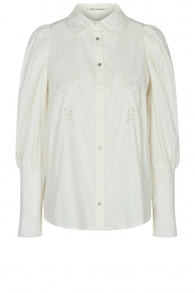 Sofie Schnoor | Blouse with puff sleeves Marie | white