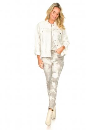 Look Studded blouse Alaia