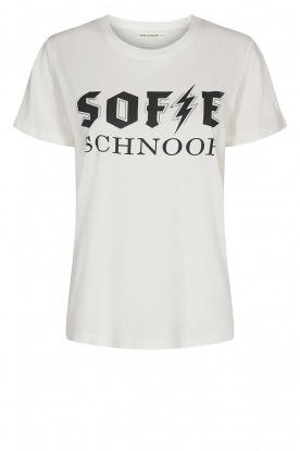 Sofie Schnoor |  Cotton Logo T-shirt Cady | white