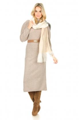 ba&sh |  Knitted dress Felicity | beige
