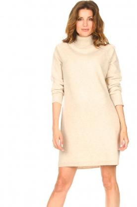 Set |  Sweater dress Maria | natural