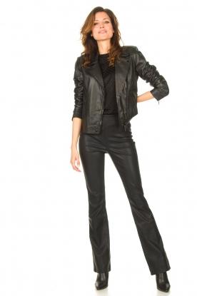 Look Leather jacket Jaimy
