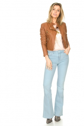 Lois Jeans |  L32 High waist flared jeans Raval | light blue