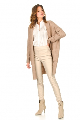 Look Long knitted cardigan Janey