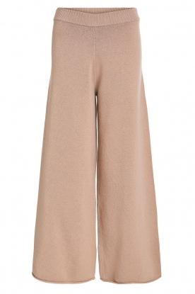 Set |  Knitted pants Joy | brown