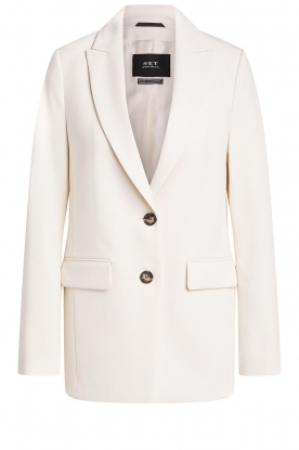 Set |  Long blazer Fee | white