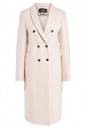 Set |  Classic coat Zoe | natural