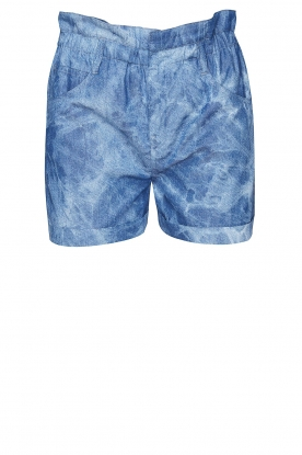Les Favorites |  Paperbag shorts Kate | blue