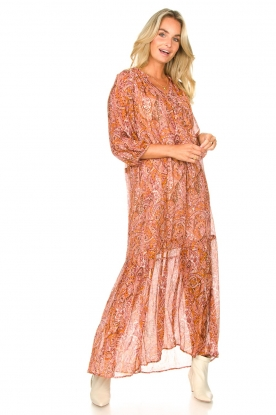 Look Paisley print maxi dress