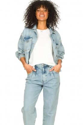 Set |  Denim jacket Romée | blue