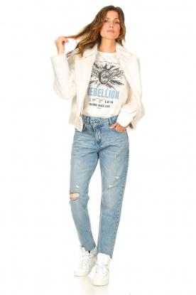 Liu Jo Denim |  Straight leg jeans Maya | blue
