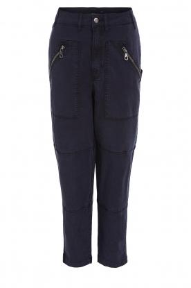 Set    Cargo pants Iris   black