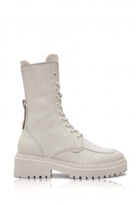 Nubikk |  Biker boots Fae Aubine | white