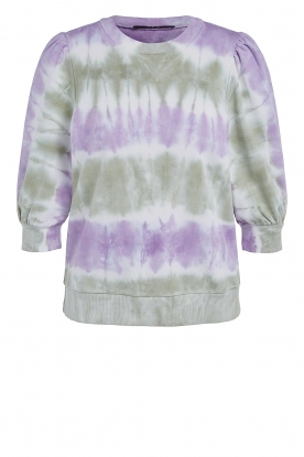 Set | Cotton Tie dye sweatshirt Romy | multi
