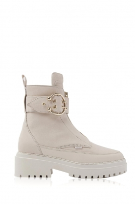 Nubikk |  Boots with buckle Fae Ray | white