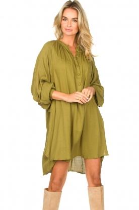 Genesis |  Tunic dress Sofia | green